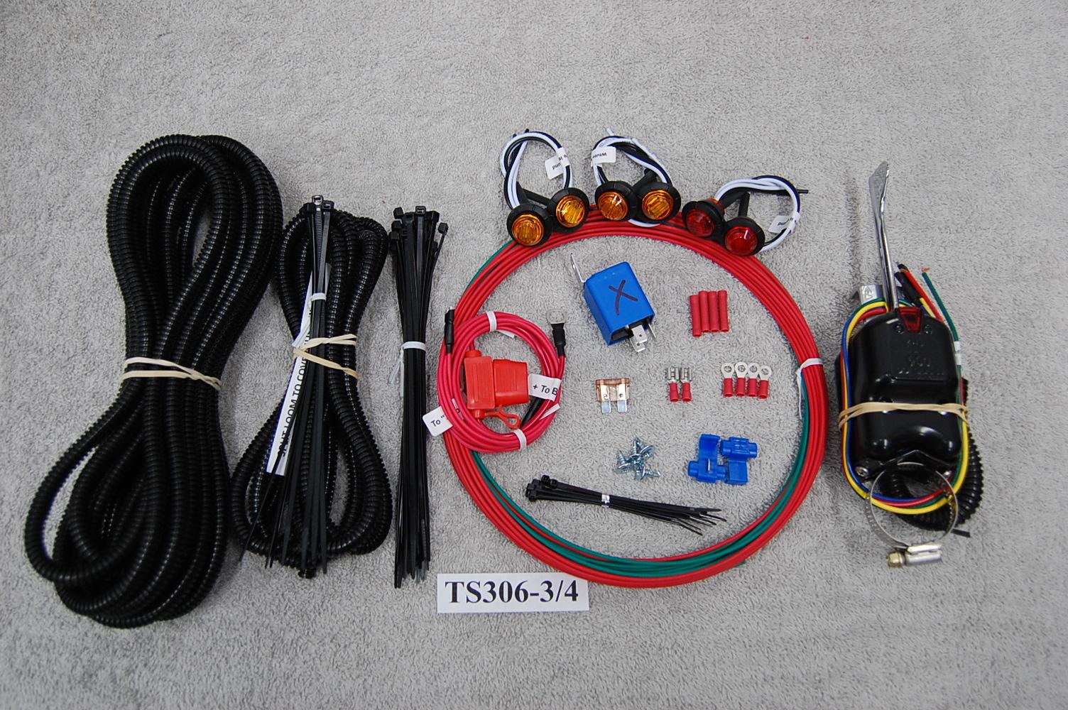 Polaris Rzr Led Light Amp Turn Signal Kit Ts306 3 4 Vic S