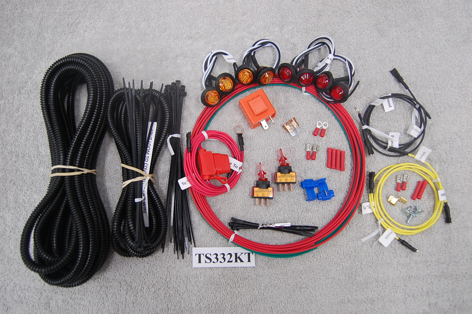Kawasaki Teryx Universal Turn Signal Led Light Kit Ts332kt Vics 2015 Wiring Schematic